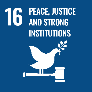 UN Goal - Peace, justice and strong institutions